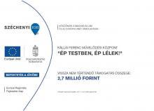 TOP-7.1.1-16-H-ERFA-2020-00763 - Ép testben ép lélek!